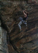 Rock Climbing Photo: Alan Nelson at the Dog House in Clear Creek Canyon...