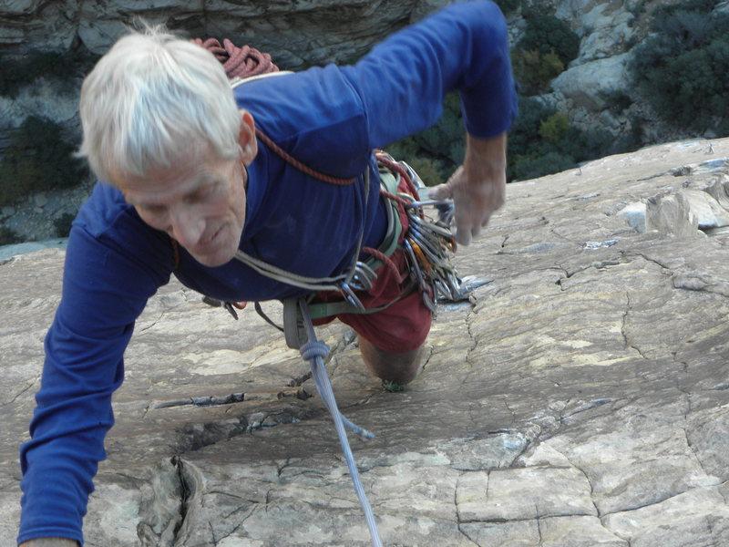 Rock Climbing Photo: Donini on Sour Mash...