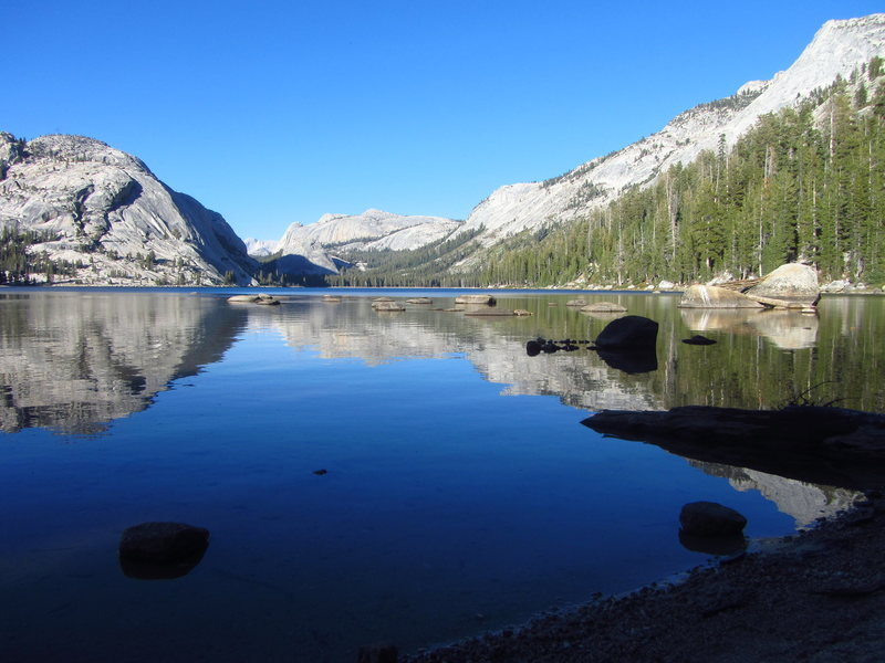 Rock Climbing Photo: Tenaya Lake