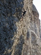 Rock Climbing Photo: Somewhere in the middle of Popcorn, photo by Monom...