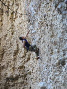 Rock Climbing Photo: Trying not to blow my load too early on Orgasmo, p...