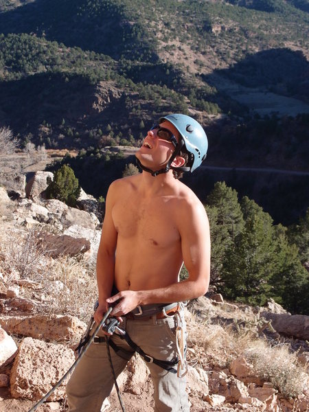 Rock Climbing Photo: On Belay!