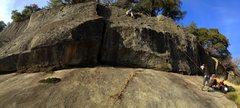 Rock Climbing Photo: The mighty Struggler Cliff (aka the El Cap of Cosu...