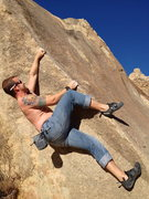 Rock Climbing Photo: apple valley, CA Horsemans BMX