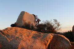 Rock Climbing Photo: the down climb