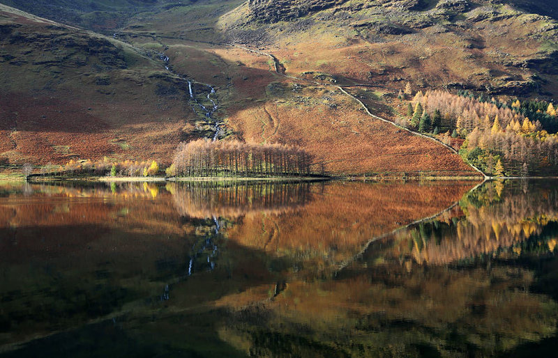 Rock Climbing Photo: Some brilliant photos this fall of Buttermere Lake...