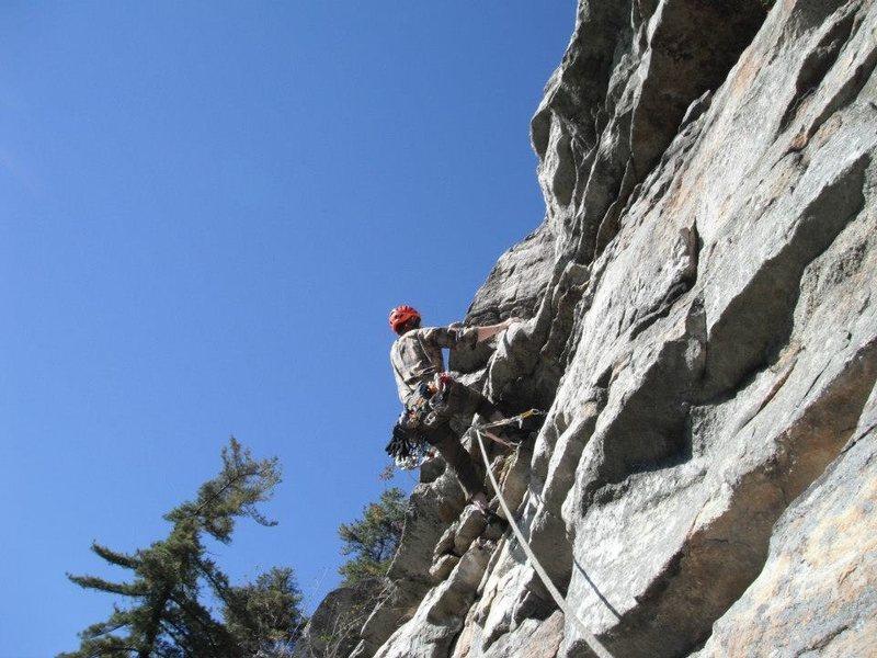 Rock Climbing Photo: Arrow 5.8 pitch 2