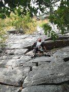 Rock Climbing Photo: Paul Deagle - Wrist 5.6