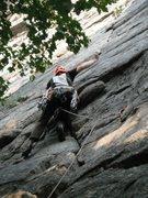 Rock Climbing Photo: Paul Deagle - Frogs Head 5.6