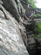 Rock Climbing Photo: Paul Deagle - Betty 5.3