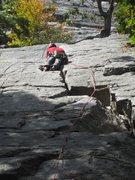Rock Climbing Photo: Paul Deagle - Twin Oaks 5.3