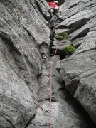 Rock Climbing Photo: Paul Deagle leading Easy Key Hole