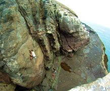Rock Climbing Photo: Burd's Eye View (5.9).