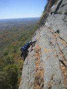Rock Climbing Photo: Paul Deagle & Mike Yunke on Red Pillar 5.5