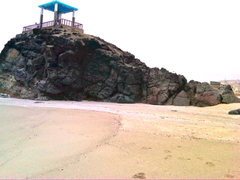 Rock Climbing Photo: Beach Bouldering at Punta Negra