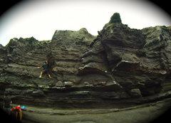 Rock Climbing Photo: Bouldering at Pucusana