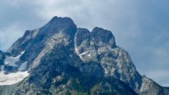 Rock Climbing Photo: The North Ridge seen from Jackson Lake.