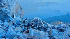 Rock Climbing Photo: Parties descending the NE Ridge will have an  unav...