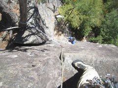 Rock Climbing Photo: Paul Deagle - Labatt-Ami - great climb, well prote...