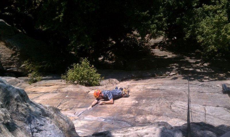 Rock Climbing Photo: Classic 5.7 pitch 1