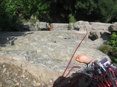 Rock Climbing Photo: Paul Deagle - Easy O 5.2 First Pitch