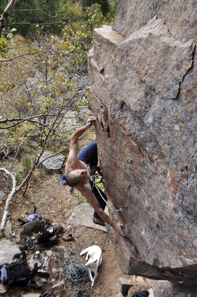 Steve Adamson on his route many years later