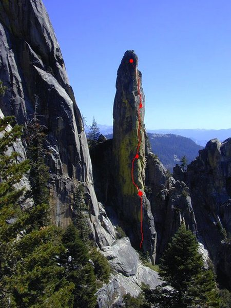 Rock Climbing Photo: Something like that.  I hope Dave Hickey will forg...