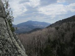 Rock Climbing Photo: Good view from belay ledge