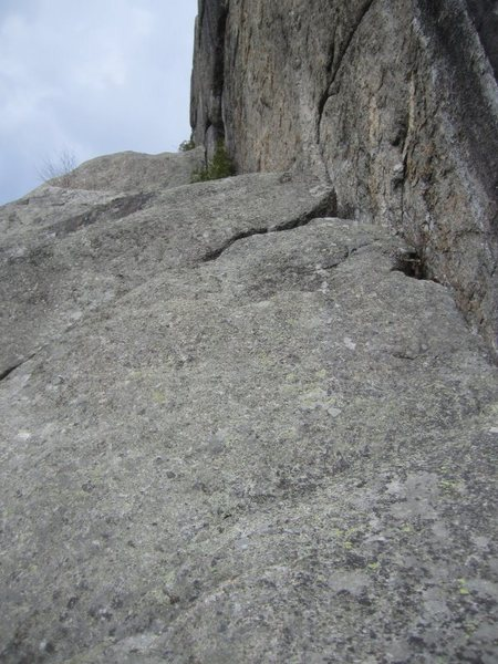 Rock Climbing Photo: The final pitch, pretty straight forward after the...