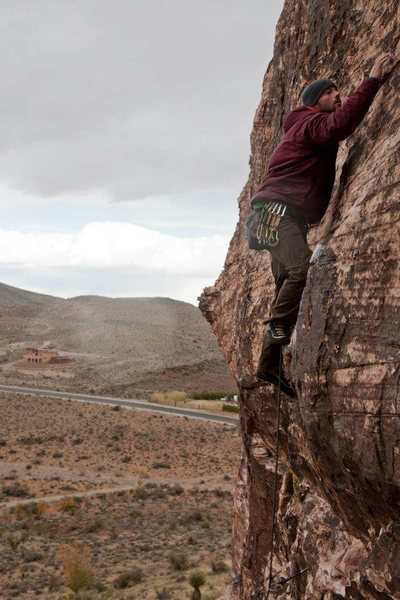 Rock Climbing Photo: Red Rock, Cannibal crag