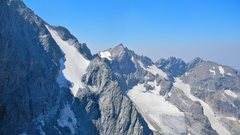 Rock Climbing Photo: View across the Triple Glaciers and a fragment of ...