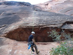 Rock Climbing Photo: Jugging lines on day 2 of Prodigal Sun