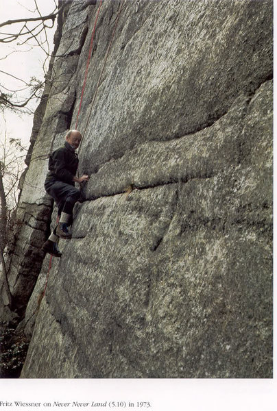 Source: Richard Dumais, Shawangunk Rock Climbing