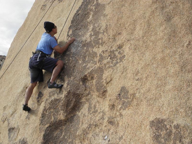 Rock Climbing Photo: Sean Tang on New Hamster.