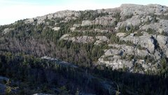 Rock Climbing Photo: north peak