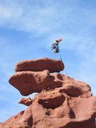Rock Climbing Photo: bondo on top