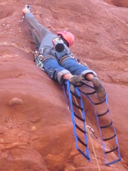 Rock Climbing Photo: bondo cruxing