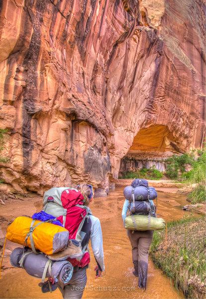 Rock Climbing Photo: Coyote Gulch