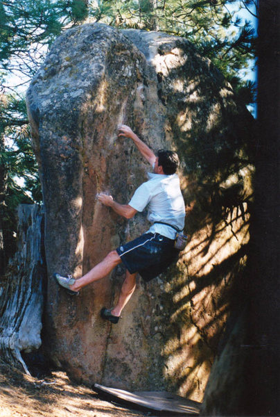 "Rock Climbing Photo: Steve Edwards on ""Quest for the Chalice"""