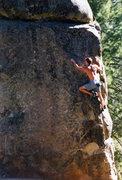Rock Climbing Photo: The excellent 'Rapunzel'.