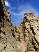Rock Climbing Photo: Starting P2.