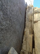 Rock Climbing Photo: Veer right for the 5.7 version or left for the 9 f...
