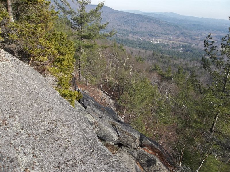 Rock Climbing Photo: Seat with a view.