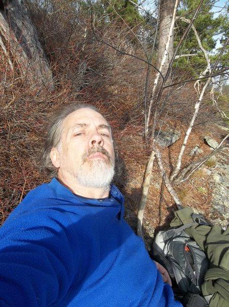 Rock Climbing Photo: 'Hey'