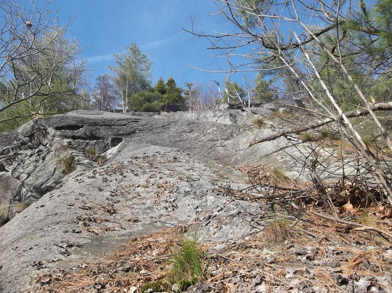 Rock Climbing Photo: Start here and keep on truckin up the middle or yo...