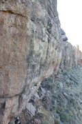 Rock Climbing Photo: The bottom 2/3rds. Amazing rock.