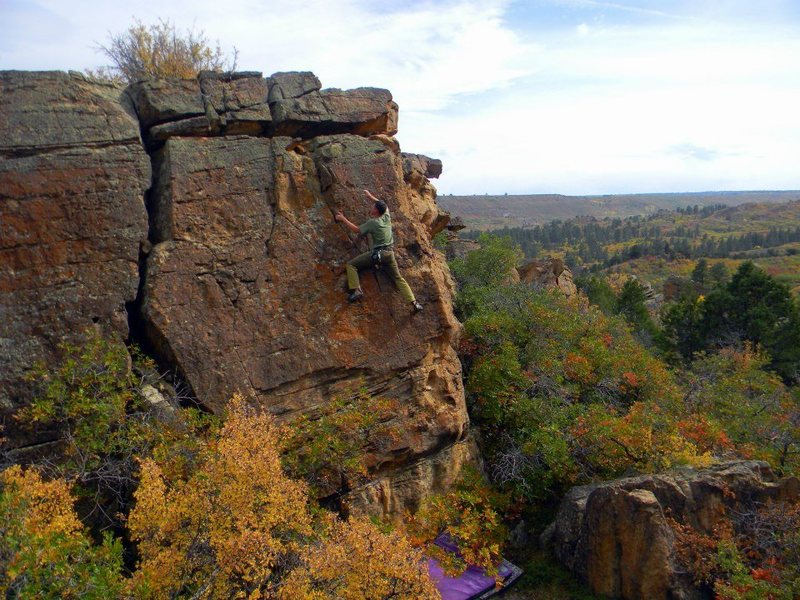 Rock Climbing Photo: 25 Mesa boulders, Delta, CO