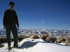 Rock Climbing Photo: Mt. Elbert summit, CO