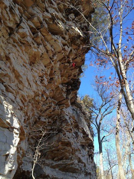 Rock Climbing Photo: Iron Mike 2012
