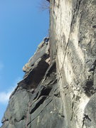 Rock Climbing Photo: On the 2nd / 3rd pitch linkup